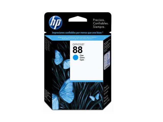 Cartucho de tinta officejet hp suprimentos c9386al hp 88 ciano 13ml
