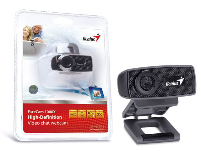 Webcam Genius Facecam 1000x HD 720P USB 2.0 Zoom 3x - 32200223101