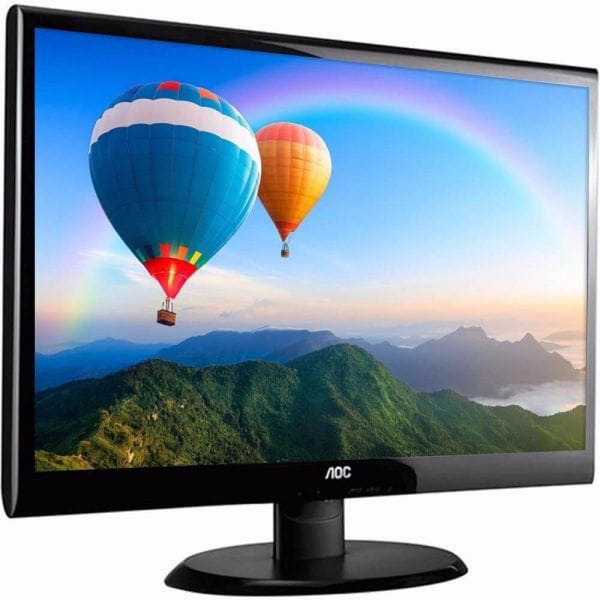 Monitor Led 18.5 AOC E970SWNL WIDESCREEN (PRETO)