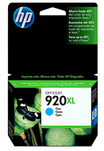 Cartucho de Tinta HP 920XL Ciano CD972AL 7,5Ml