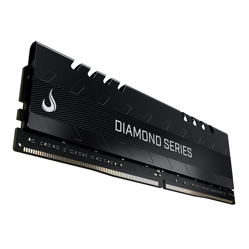 Memória DDR4 16GB 2400MHz Rise Mode Diamond Preto - RM-D4-16G-2400D