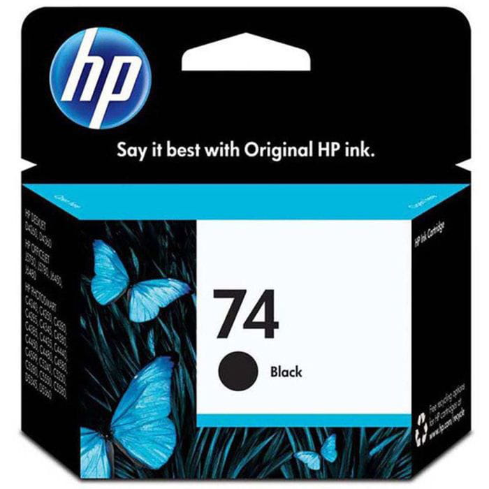 Cartucho de Tinta HP 74 Preto Black Original 5,5ml CB335WB