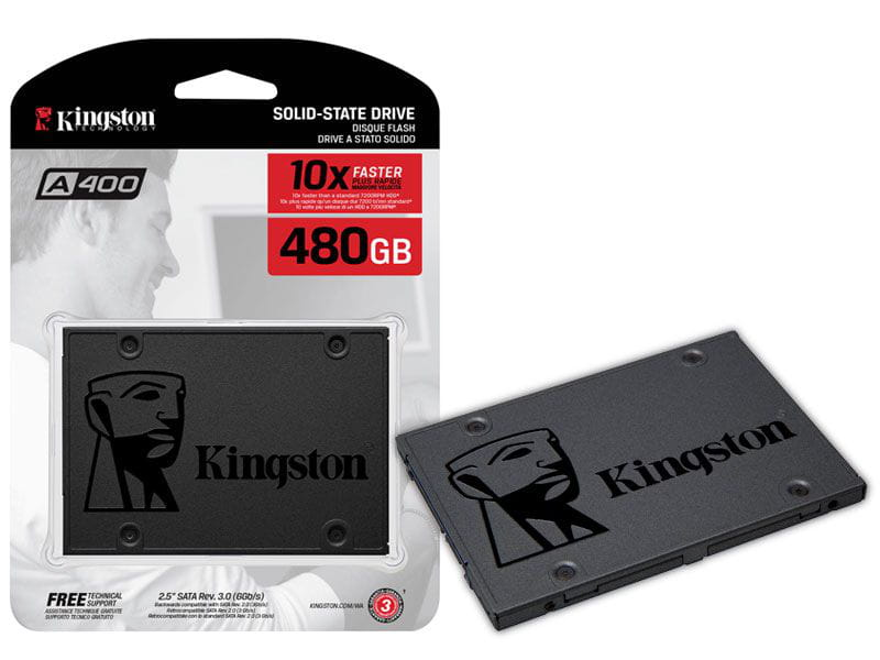 SSD 480GB Kingston sa400s37/480g a400 480gb 2.5 sata iii 6gb/s