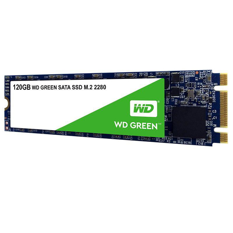 SSD Western Digital Green M.2 120GB Leituras: 545MB/s - WDS120G2G0B