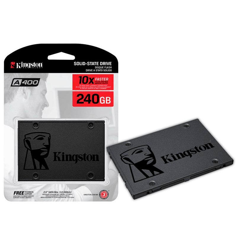 HD SSD 240GB Kingston 2.5