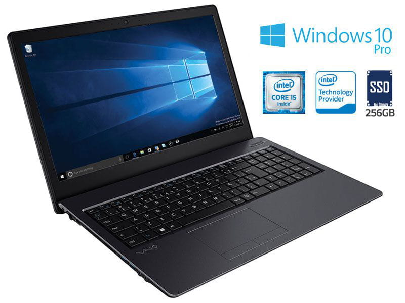 Notebook Vaio i5-7200U SSD 256GB 8GB 15.6 Win10 - VJF155F11X-B0621B