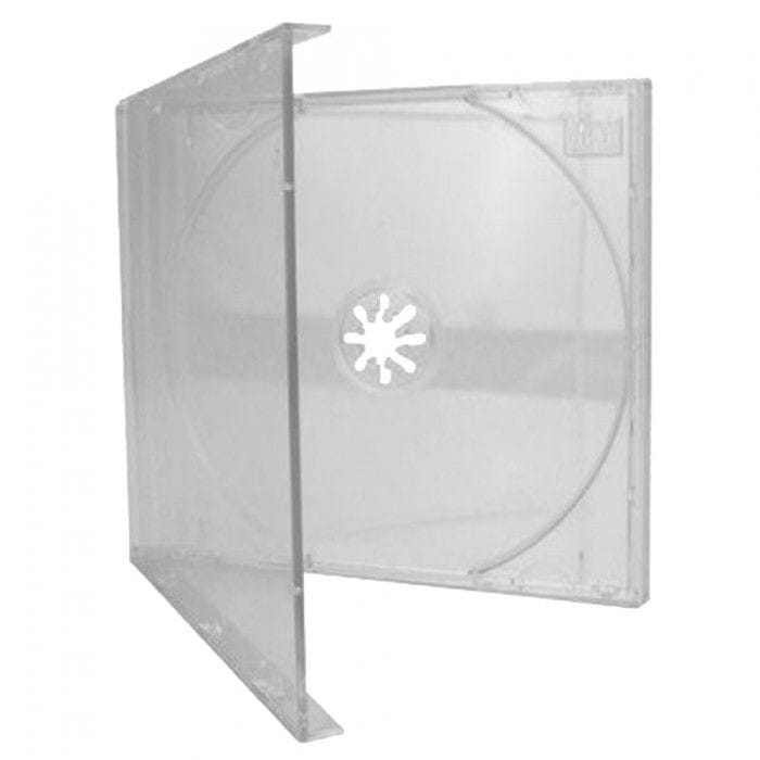 CD BOX COM TRAY CRISTAL - CAIXA C/200