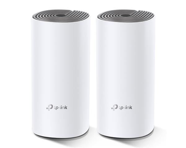 Roteador tp-link deco e4 (2 pack) (us) wi-fi mesh dual band ac1200 10/100mbps - tpn0204