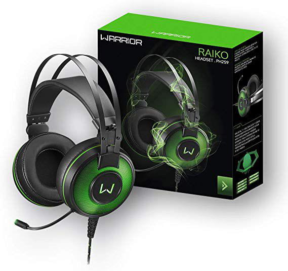 HEADSET GAMER USB MULTILASER WARRIOR RAIKO 7.1 - PH259