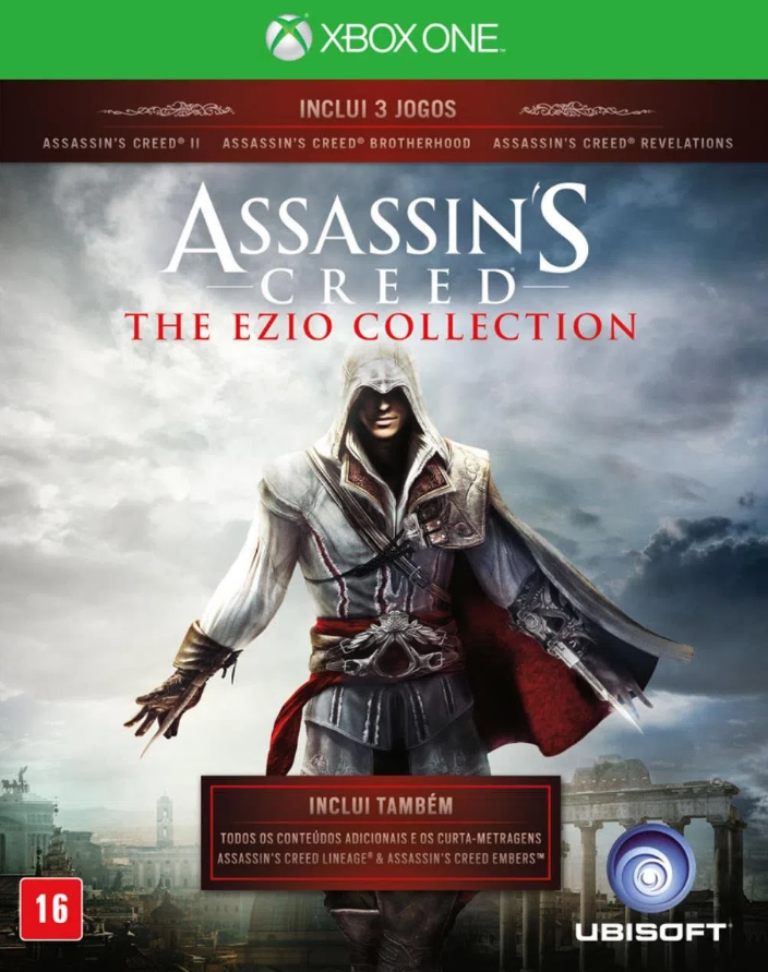 JOGO ASSASSINS CREED EZIO COLLECTION - XBOX ONE