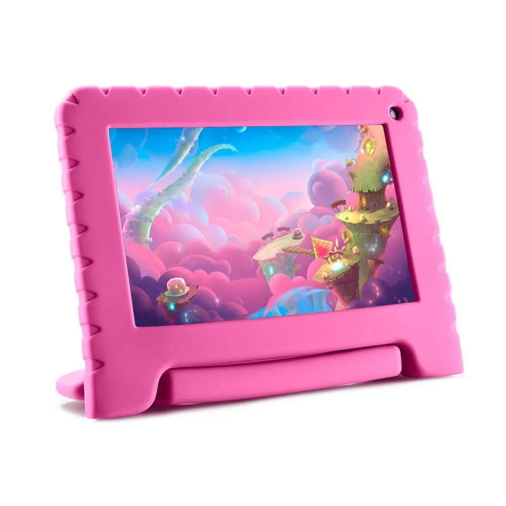 TABLET MULTILASER KID PAD LITE - ANDROID 8.1 -TELA 7