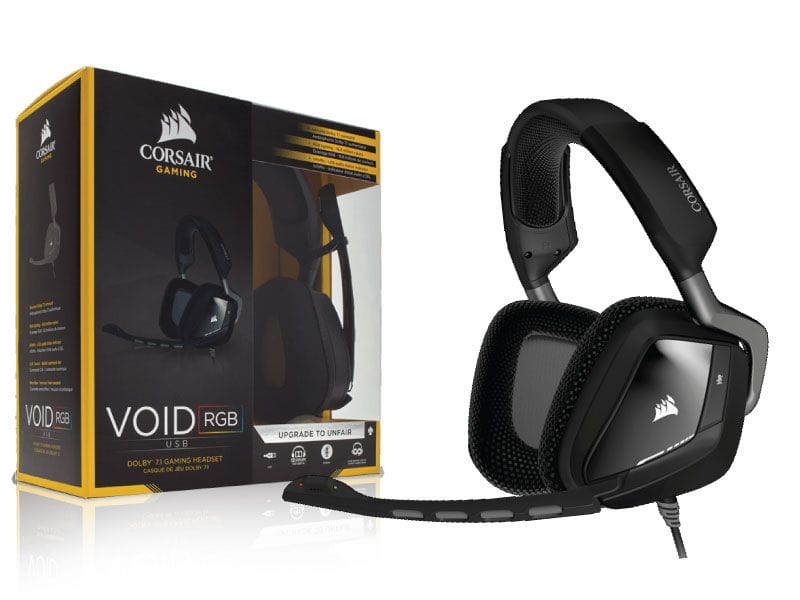 Headset gamer corsair ca-9011130-na void rgb dolby 7.1 usb preto
