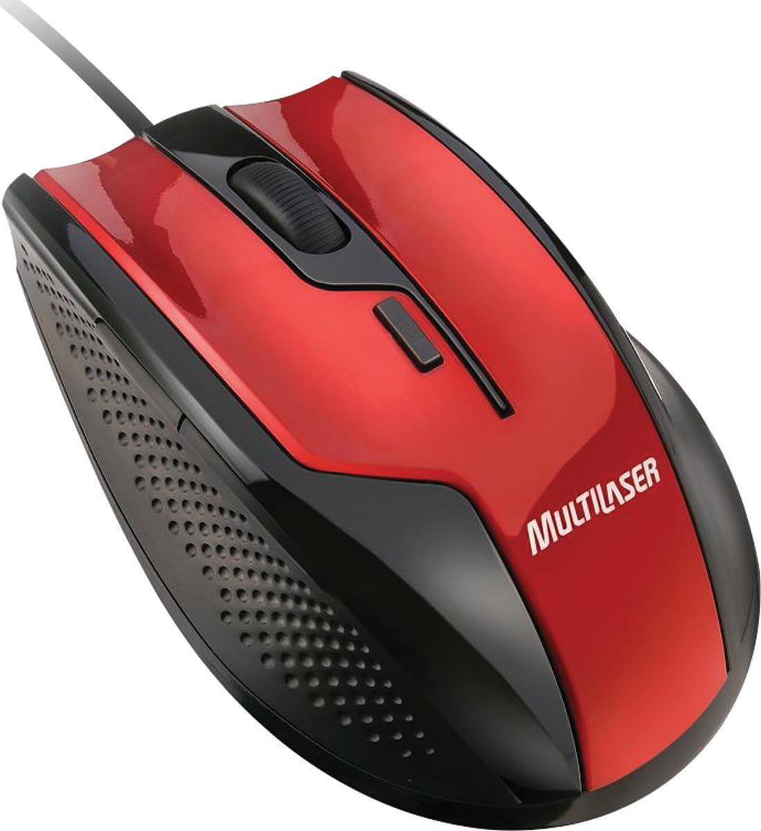 Mouse Multilaser Fire Gamer USB - MO149