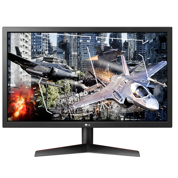 Monitor LED 24 LG GAMER 144HZ 1MS FULL HD FREESYNC - 24GL600F