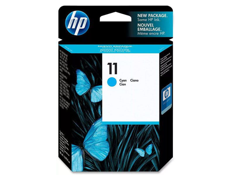 Cartucho de tinta officejet hp suprimentos c4836a hp 11 ciano 28ml