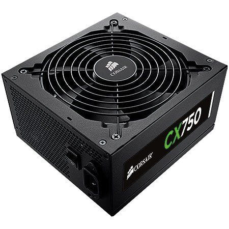 Fonte 750W Corsair CX750 80Plus Bronze - CP-9020015-WW