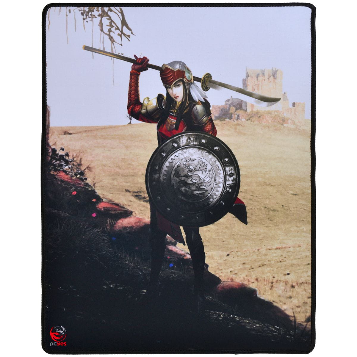 Mouse Pad Pcyes RPG Valkyrie - 400X500MM - RV40X50