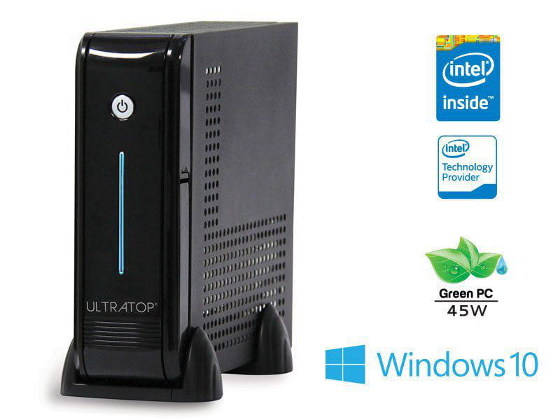 Computador Desktop Windows Computador Ultratop Intel Dualcore J3060 1.6ghz 4gb 120gb Windows 10 Professional