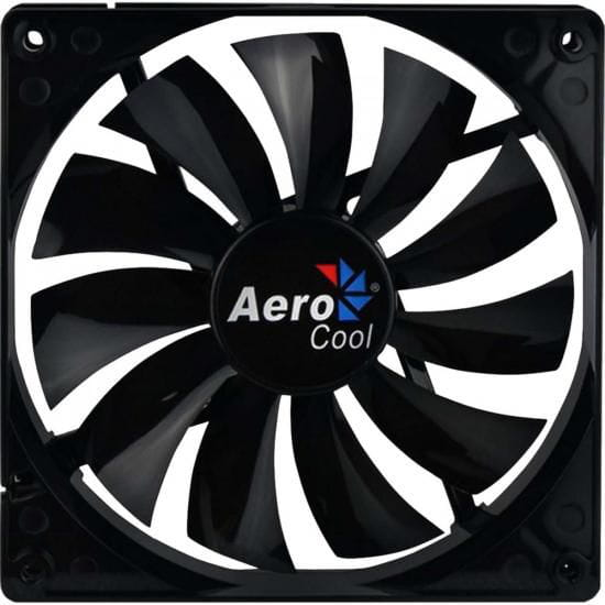 Cooler Fan AEROCOOL 14cm DARK FORCE  Preto PN: EN51349