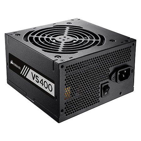 Fonte 400W Corsair VS400 80Plus White Atx PFC Ativo - CP-9020117-LA