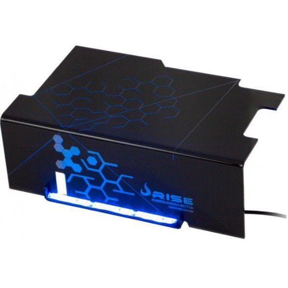 Cover PSU Rise Ice Cold Led Azul - RM-CP-01-ICE