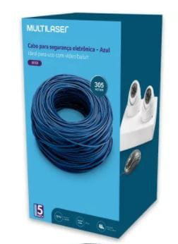 CABO 04 PARES MULTILASER 4PX0,50 CCA AZUL - 305MTS
