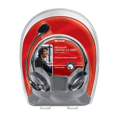 Microfone Microsoft Headphone Headset LifeChat LX-2000