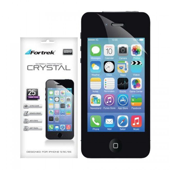 PELICULA IPHONE CRYSTAL FORTREK ISP103