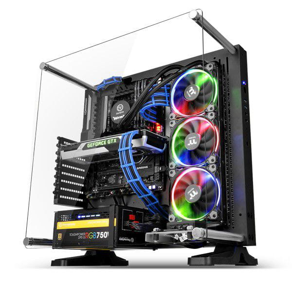 Gabinete Thermaltake Core P3 Wall Mount Black USB3.0 - CA-1G4-00M1WN-02