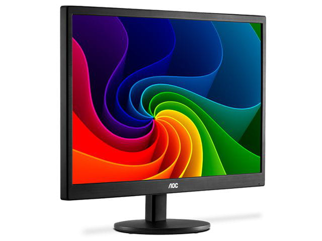 Monitor led 18,5 aoc e970swnl  18,5 1366 x 768 hd widescreen vga