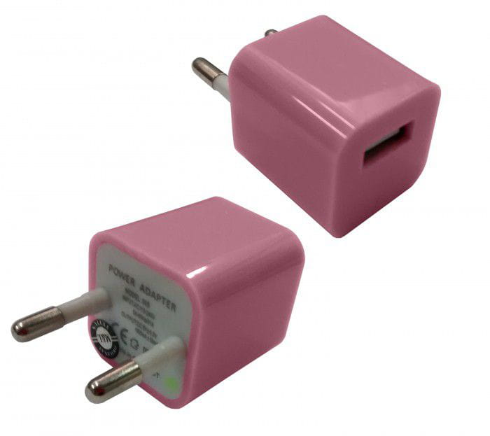 ADAPTADOR USB COLOR PARA TOMADA