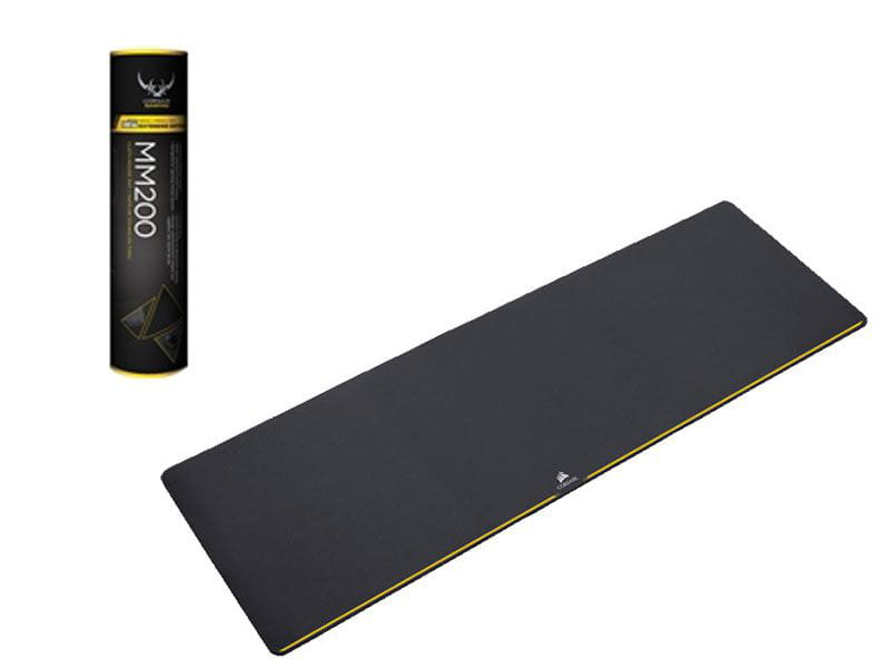 Mouse pad gamer corsair ch-9000101-ww mm200 extended 93 x 30cm preto