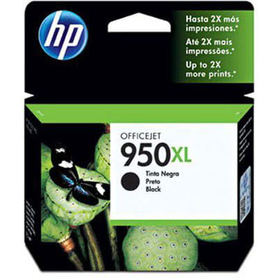 CARTUCHO HP 950XL PRETO ALTO RENDIMENTO 53ML - CN045AB
