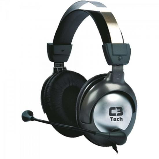 Headset C3 Tech Raptor Gamer Preto - MI-2870RS