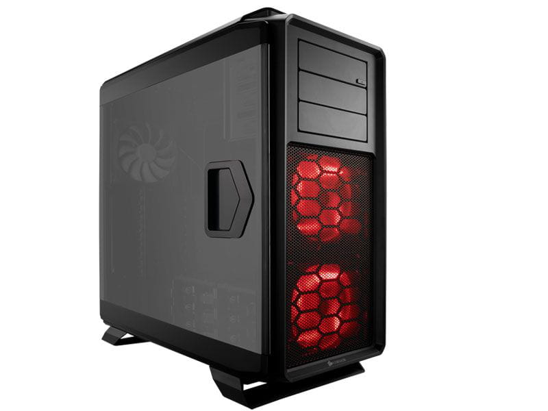 Gabinete gamer corsair cc-9011073-ww graphite series 760t preto full tower com acrilico