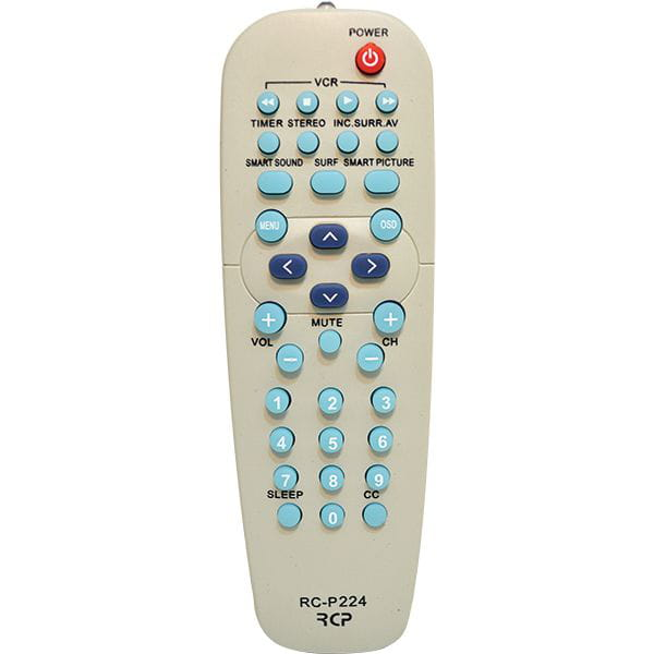 Controle Tv Philips Gs-224 F Basicas Vk7 Gigasat
