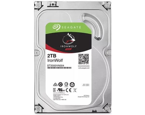HD 2 TB Seagate Ironwolf - ST2000VN004