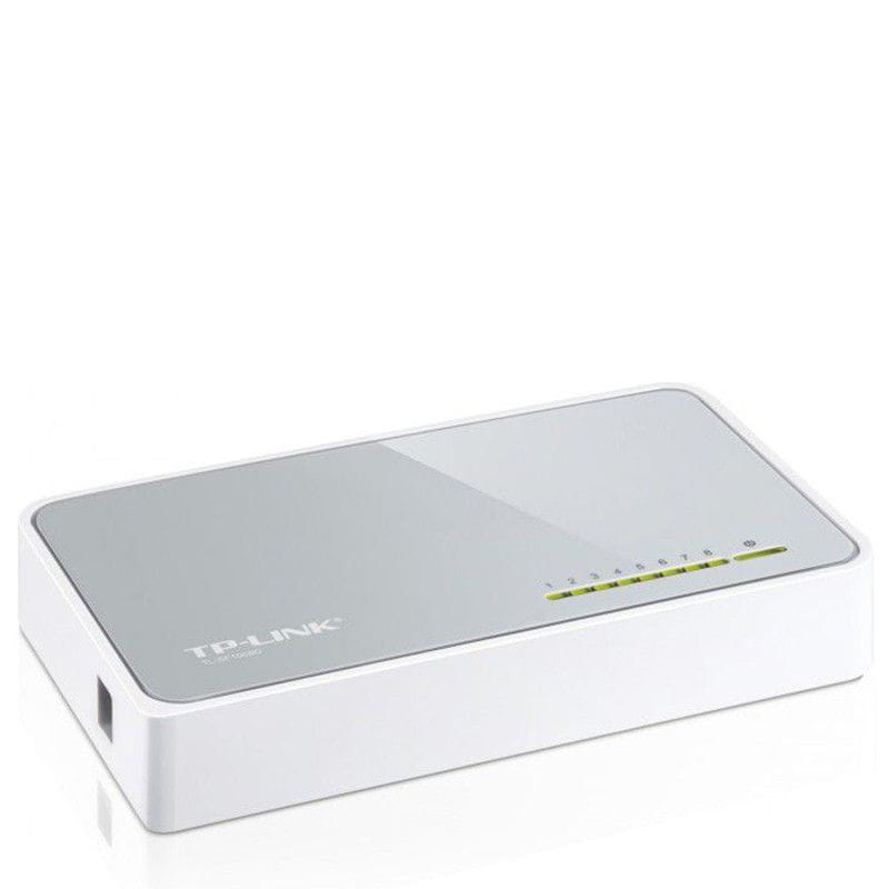 Switch 8 Portas 10/100Mbps TP-Link - TL-SF1008D