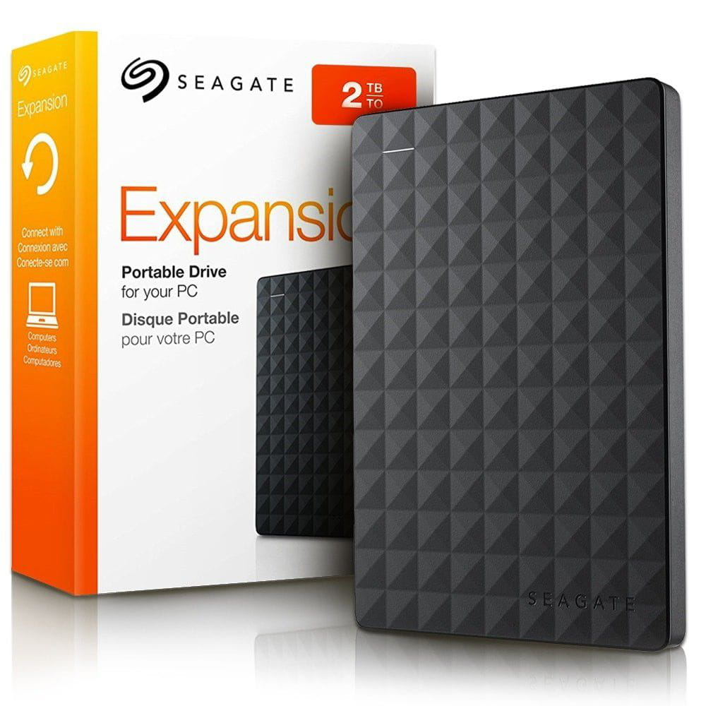 Hd Externo 2 Tb Portátil Seagate Expansion 2000Gb 2,5 Usb 3.0