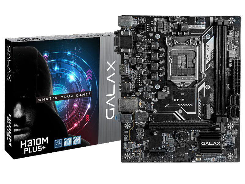 Placa Mãe Desktop Lga 1151 Intel Placa Mãe Ih31cmagcxj1cw H310m Plus Matx Ddr4 2666mhz M.2 Vga Dvi Hdmi 9th