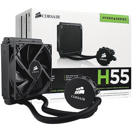 Water Cooler Corsair Hydro Series H55 Quiet - CW-9060010-WW