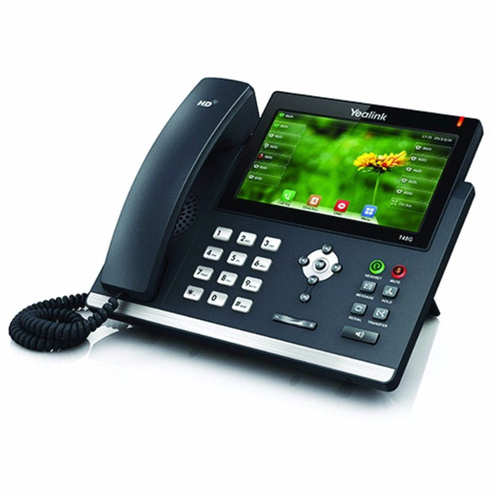 Telefone IP Yealink T48S Giga SIP com Display Touch