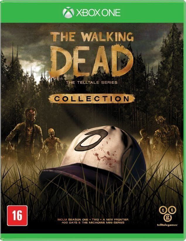 JOGO XBOX ONE THE WALKING DEAD COLLECTION