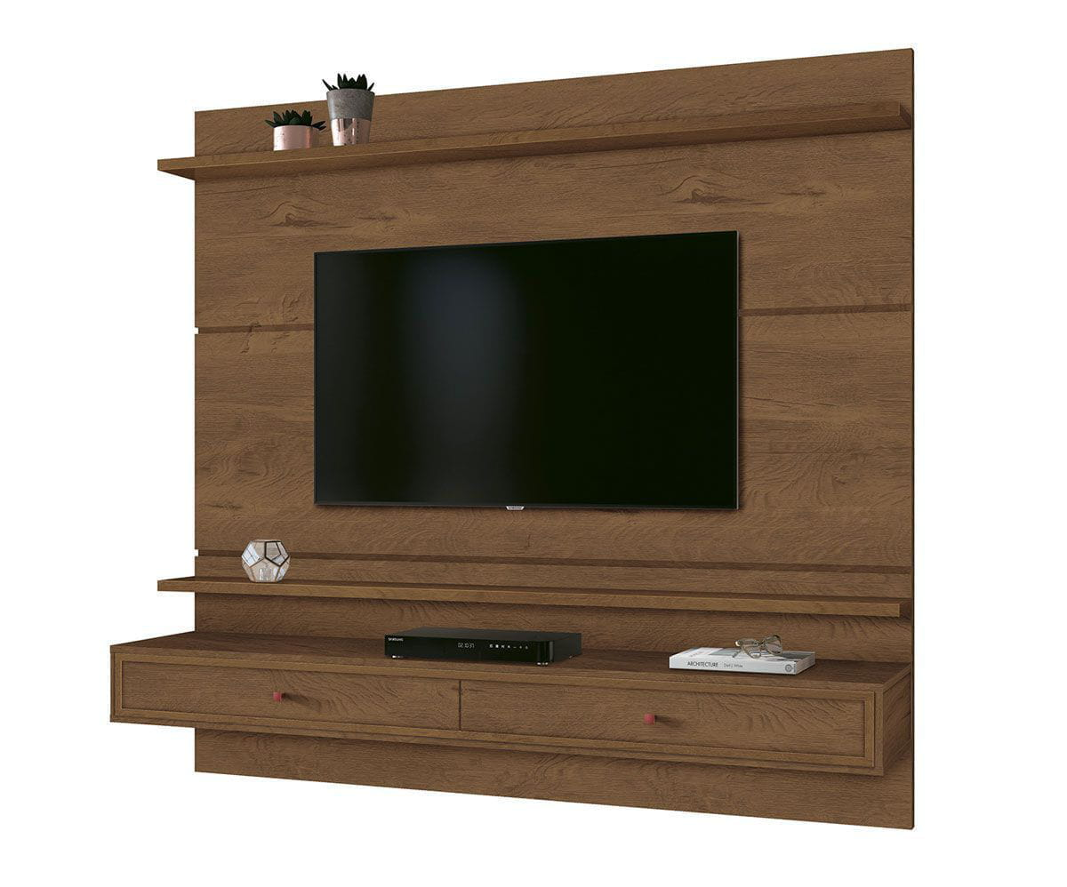 Painel Treviso 1.60 EDN Moveis - Cor Naturale