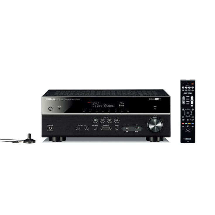 Receiver Home Theater Yamaha Rxv 583 7.2 4k Ultra HD Bluetooth WIFI Dualzone
