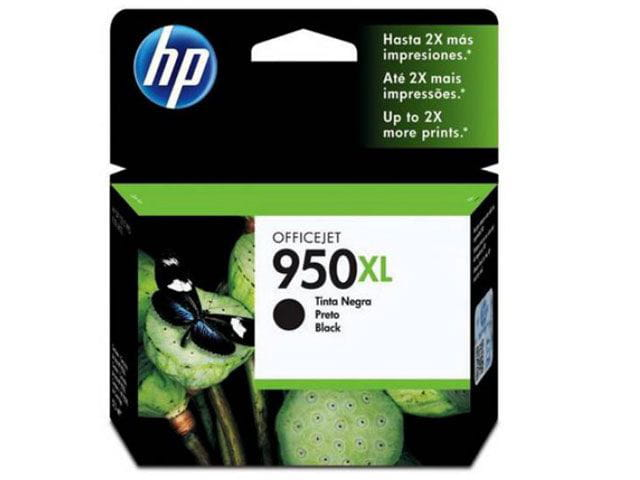 Cartucho de tinta officejet hp suprimentos cn045ab hp 950xl preto 53 ml