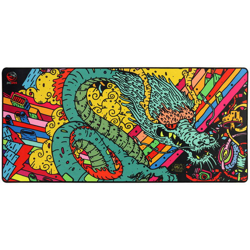 Mouse Pad Dragon Extended Estilo Speed - 900x420mm Pcyes - PMD90x42