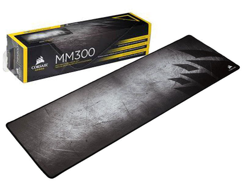 Mouse Pad Corsair Gamer MM300 Extended 93 x 30cm preto CH-9000108-WW