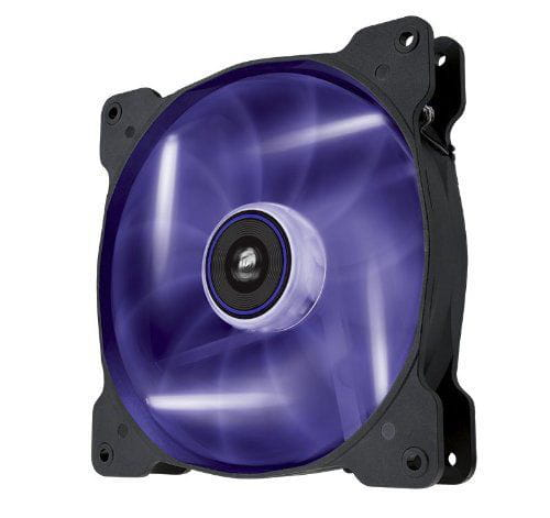 Fan para gabinete air series af140 led roxo - 140mm x 25mm co-9050017-pled - corsair