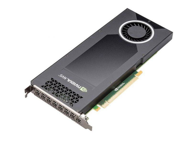 Quadro Nvidia Vcnvs810dvi-pb Nvs 810 4gb Ddr3 128bit Mni-display Port